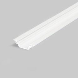 Profil WIRELI TRIO BC/ 45/90° bílý komaxit 2m-Miniaturní rohový profil 45°nebo pro kolmé zafrézování do podložky.