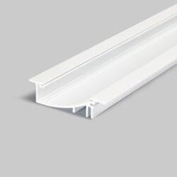 Profil WIRELI31 FLAT H/UX bílý komaxit 2m (metráž)-Hliníkový LED profil s nepřímým svícením.