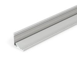Profil WIRELI CABI12 E/ hliník anoda 2m                                         -Universální rohový LED profil umožňující montáž se směrem svitu 60°nebo 30°.