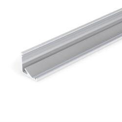 Profil WIRELI CABI12 E/ hliník surový 2m-Universální rohový LED profil umožňující montáž se směrem svitu 60°nebo 30°.