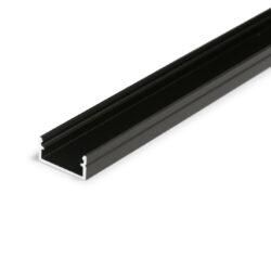 Profil WIRELI BEGTON12 J/S černá anoda 2m (metráž)-Dostupnost tohoto profilu by měla být od ČERVENCE 2016.