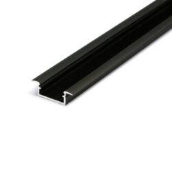 Profil WIRELI BEGTIN J/S černá anoda 2m (metráž)-Dostupnost tohoto profilu by měla být od ČERVENCE 2016.