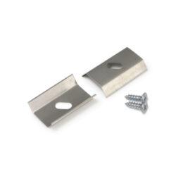 Montážní úchyt  U6 oválný otvor, nerez ocel (pár)