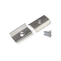 Montážní úchyt  U6 kulatý zahlubovaný otvor, nerez ocel (pár)