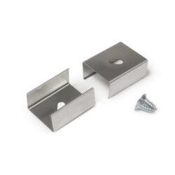 Montážní úchyt  U4 oválný otvor, nerez ocel (pár)