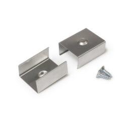 Montážní úchyt  U4 kulatý zahlubovaný otvor, nerez ocel (pár)