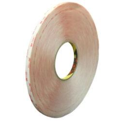 Oboustranná lepicí páska 3M 9x0,5 mm 66 m čirá VHB Clear (papír. podklad)