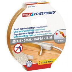 2x Oboustranná lepicí páska Tesa Powerbond 9x2 mm 5 m bílá