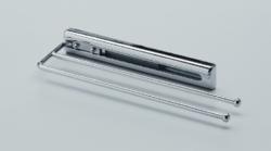 Výsuvný věšák na utěrky, L 325 mm, chrom